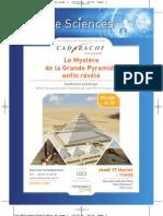 Flyer Soir de Sciences 2011