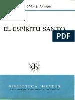 EL ESPÍRITU SANTO - Yves Congar.pdf