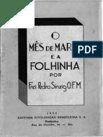 O MES DE MARIA E A FOLHINHA