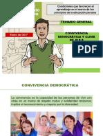 CONVIVENCIA DEMOCRATICA Y CLIMA EN EL AULA