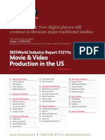 IBISWorld Industry Report Movie & Video Production in the US 2019