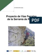 Proyecto vías ferratas de la Serrania de Ronda