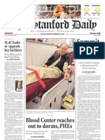 The Stanford Daily, Jan. 24, 2011
