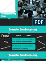 Independent Learning - Data Processing