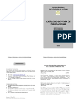 Catálogo de publicaciones ACS nº1-2011
