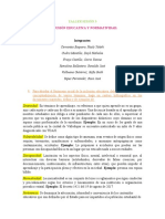 TALLER SESION 3  INCLUSION  Y NORMATIVIDAD  EN COLOMBIA
