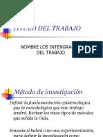 Plantilla Estructura Metodologica del Anteproyecto