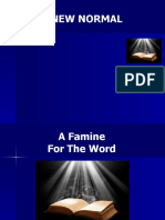 A Famine For The Word.ppt