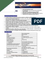 Petróleo y Gas, Energía, Industria y Concreto, Productos especiales hi-temp_707_hb