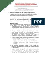 MEMORIA DE CALCULO DE SISTEMA DE EXCRETAS UBS