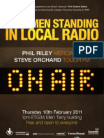 Coventry Conversations - Last Men standing in local radio