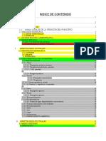 Indice de contenido - Plani 1