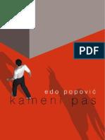 Edo Popovic - Kameni pas