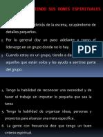 DESCUBRIMIENTO DE DONES ESPIRITUALES presentacion 1
