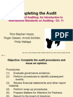 ch 11 auditing