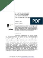 [22996885 - Folia Scandinavica Posnaniensia] Zu Tautonymen und Internationalismen aus linguistischer und didaktischer Sicht (1).pdf