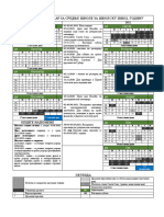 Skolski Kalendar Srednje Skole 20-21