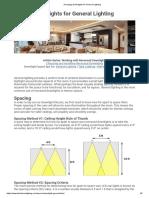 Arranging Downlights for General Lighting.pdf