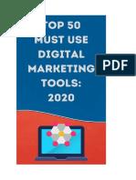 Top 50 Digital Marketing Tools