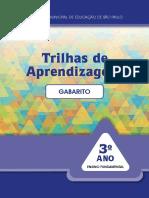TRILHAS DE APRENDIZAGEM 1_Gabarito