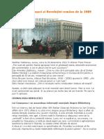 Adevărații păpușari ai Revoluției române de la 1989