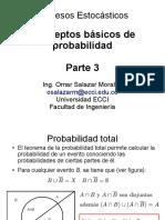 CONCEPTOS BASICOS DE  PROBABILIDAD parte 3