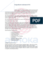Ashoka University Curriculum