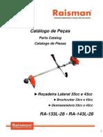 ROÇADEIRA RA 133L - RA 143L
