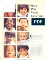 Artigo - Olhai para vossas criancinhas - A Liahona, outubro de 1994