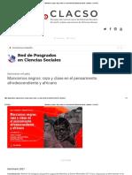 bibliografia Marxismos negros_ raza y clase en el pensamiento afrodescendiente y africano - CLACSO.pdf