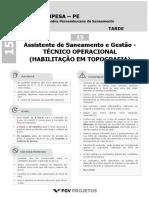 COMPESA2018_Assistente_de_Saneamento_e_Gestao_-_Tecnico_Operacional_(Habilitacao_em_Topografia)_(NM-TOTOP)_Tipo_1
