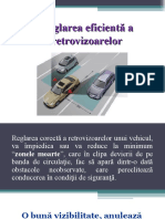 Reglarea eficienta a retrovizoarelor