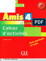 AMIS et compagnie 4 B1 cahier d'activite