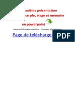 x 13 modèles présentation soutenance pfe, stage et mémoire en powerpoint.pdf