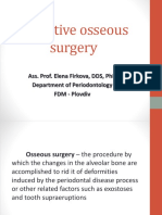 resective osseous surgery