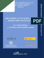Rodríguez Palop (eds) - Desafíos actuales a los derechos humanos. La renta básica y el futuro del Estado social-Dykinson (2010)