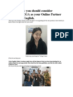 5 things why you should consider choosing CEGA as your Online Partner in learning English