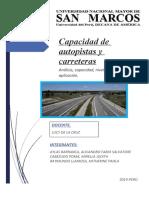 Capacidad de autopistas y carreteras ( Final )