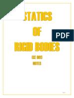 STATICS NOTES 1