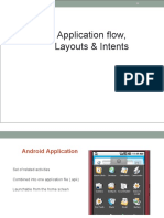 03. Application frow, Layouts