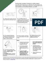 VOC testing procedure