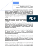 El camino curricular de la polÃ_tica educativa colombiana (002).pdf