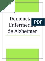 DEMENCIA Y ENFERMEDAD DE ALZHEIMER NIDIA JOHN