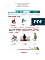 Taller de español grado 4-Parte 13-Cristo Humberto Badillo