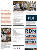 Brochure RDM Campus Innovation Network