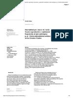 Mortalidad por cáncer del aparato reproductor masculino y exposición ambiental al anti-andrógeno p, p'-Dichlorodiphenyldich