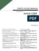 bizhub C368 PartsManual