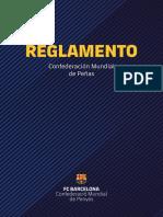 Reglamento de Peñas (ESP)