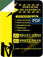 cartão virtual  eletricista
