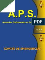 COMITE DE EMERG COMPLETO APS 2007